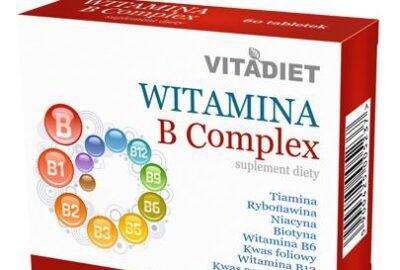 Opakowanie witaminy B-Complex